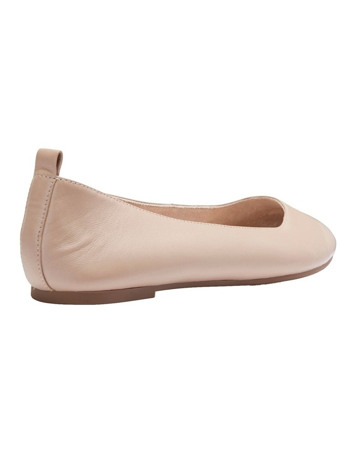 Gaze Nude Glove Flat Shoes image 5