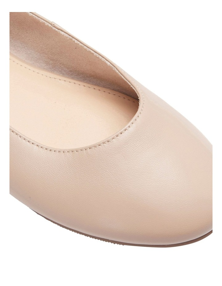 Gaze Nude Glove Flat Shoes image 7