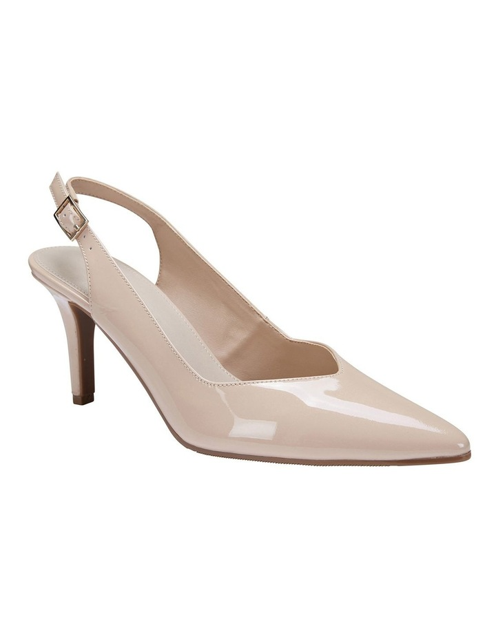 Maestro Nude Patent Heeled Shoes image 2