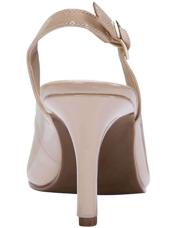 Maestro Nude Patent Heeled Shoes image 6