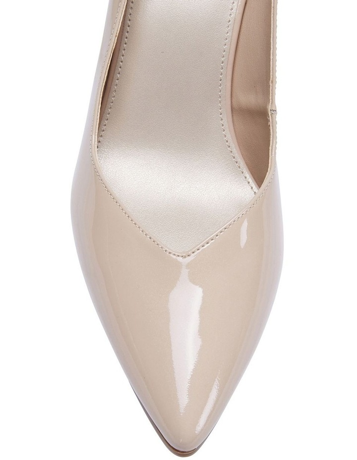 Maestro Nude Patent Heeled Shoes image 7