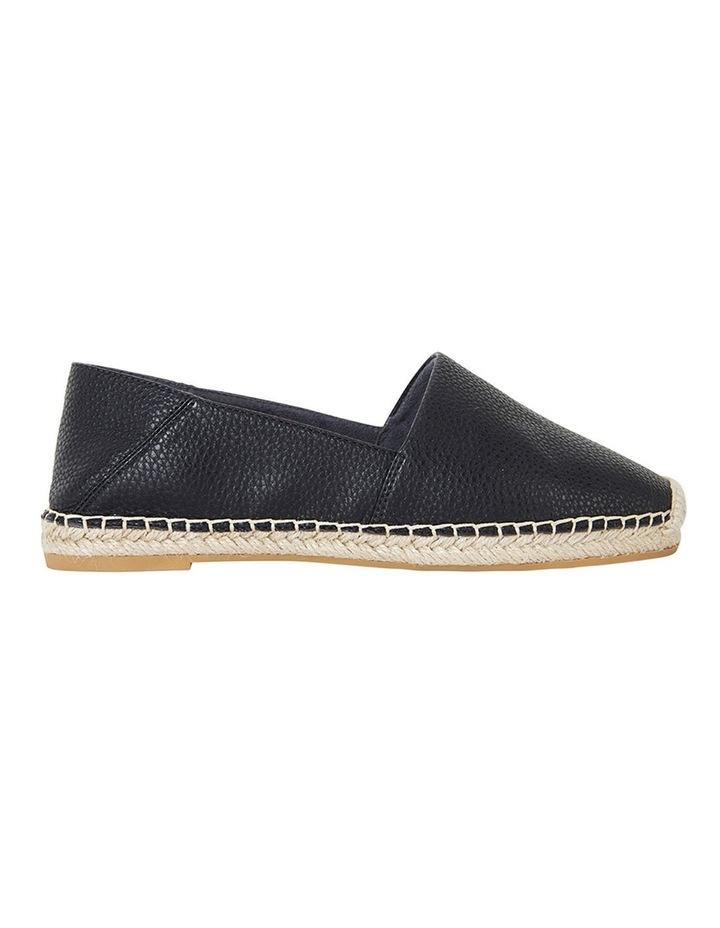 Bella Black Pebble Flat Shoes image 1