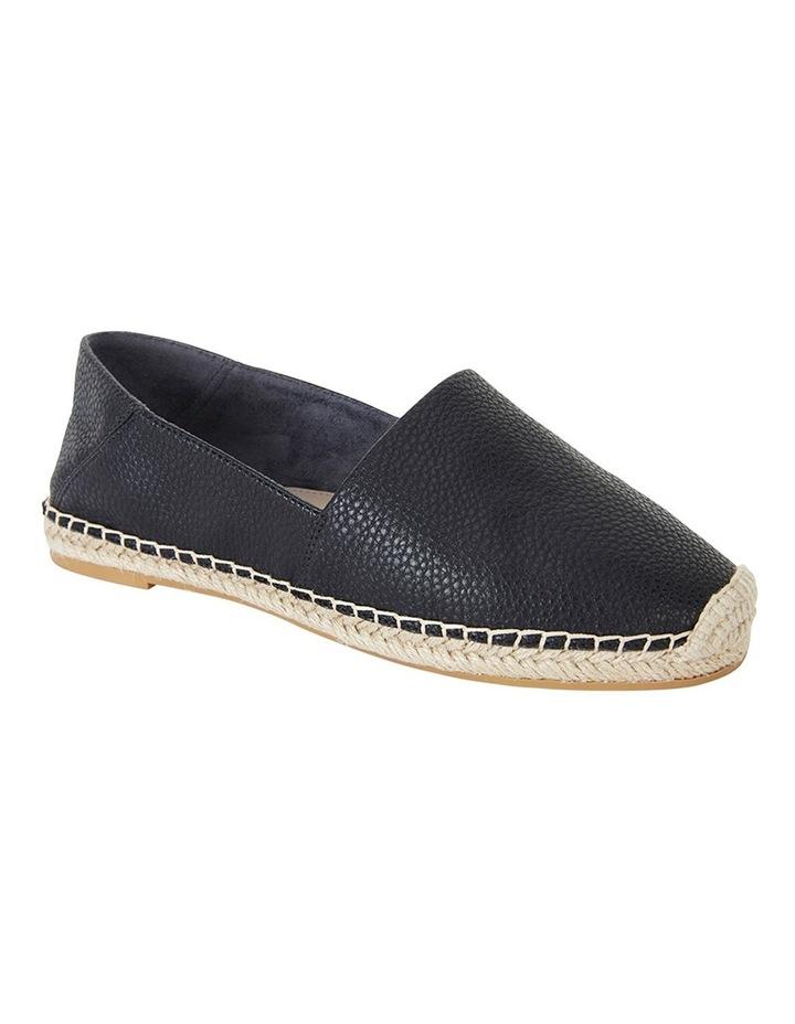 Bella Black Pebble Flat Shoes image 2