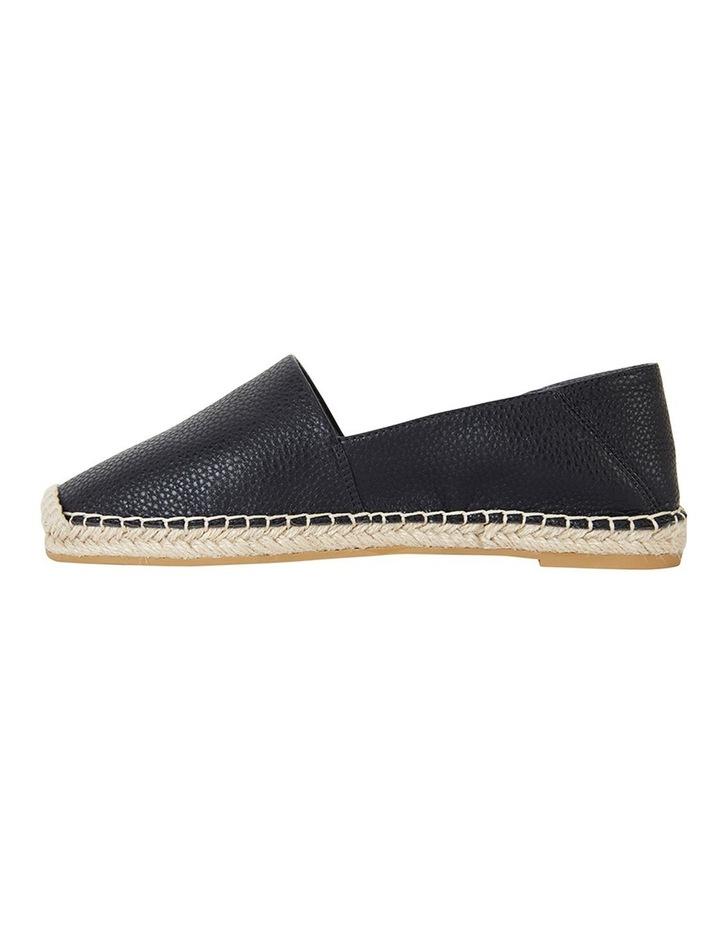 Bella Black Pebble Flat Shoes image 3