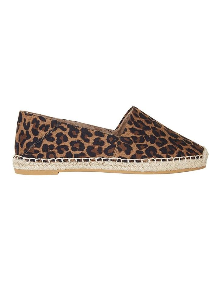 Bella Animal Fabric Flat Shoes image 1