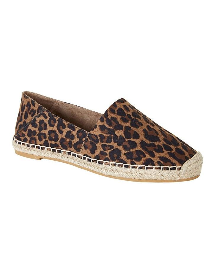 Bella Animal Fabric Flat Shoes image 2