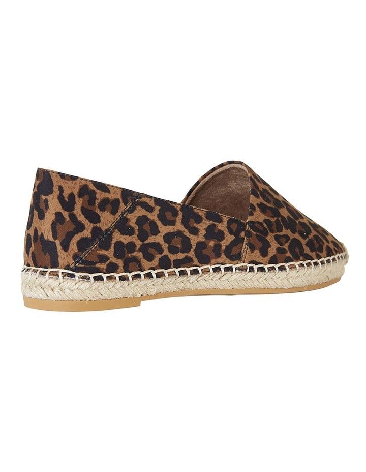 Bella Animal Fabric Flat Shoes image 3
