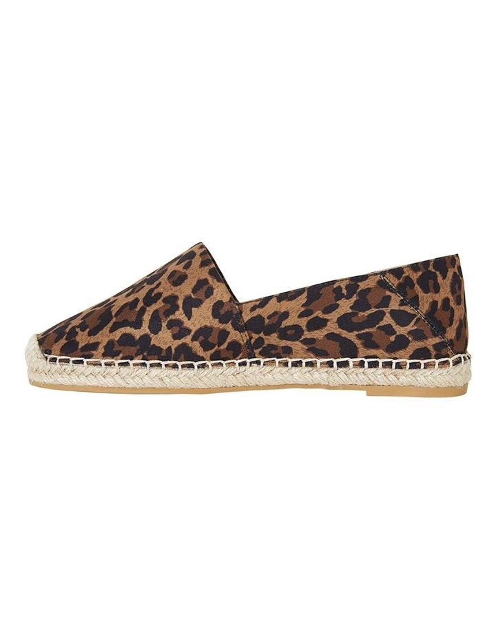 Bella Animal Fabric Flat Shoes image 4