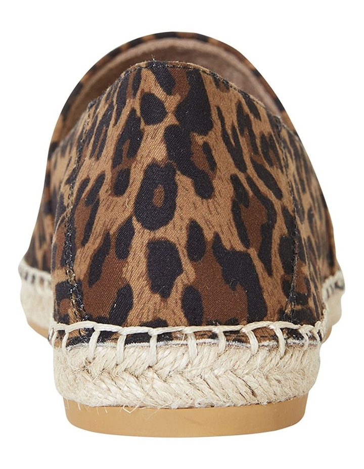 Bella Animal Fabric Flat Shoes image 6
