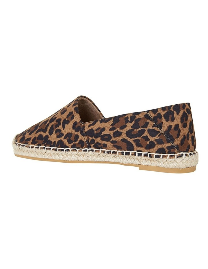 Bella Animal Fabric Flat Shoes image 7
