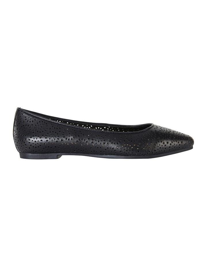 Leah Black Glove Flat Shoes image 1
