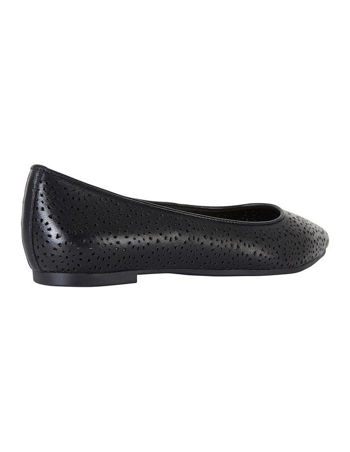 Leah Black Glove Flat Shoes image 3