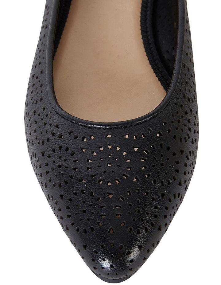 Leah Black Glove Flat Shoes image 4