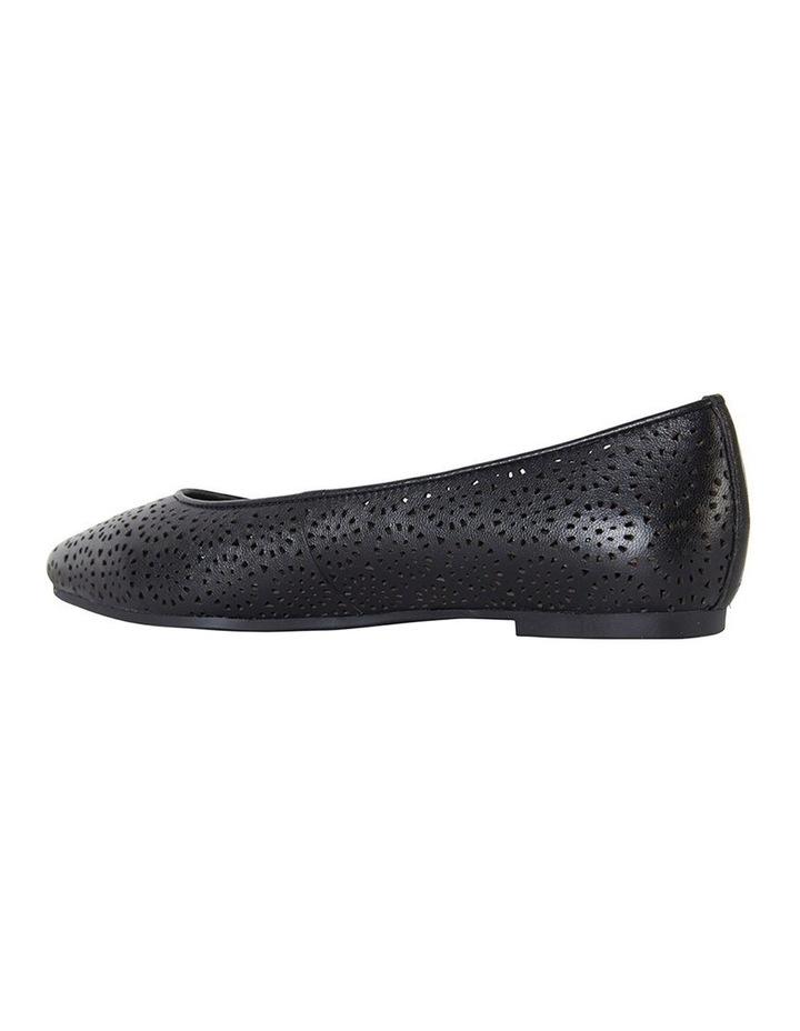 Leah Black Glove Flat Shoes image 5