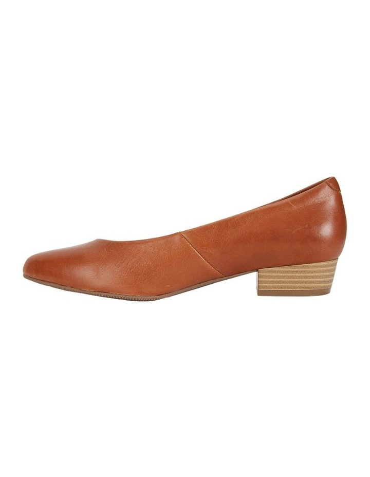 Emily Cognac Glove Heeled Shoes image 3