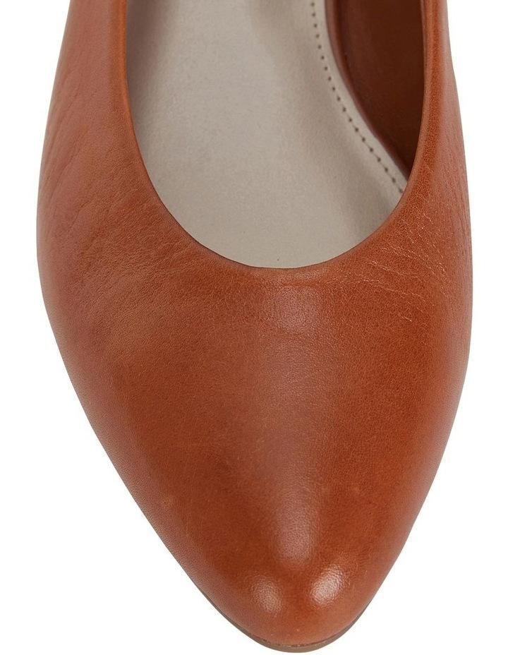 Emily Cognac Glove Heeled Shoes image 5