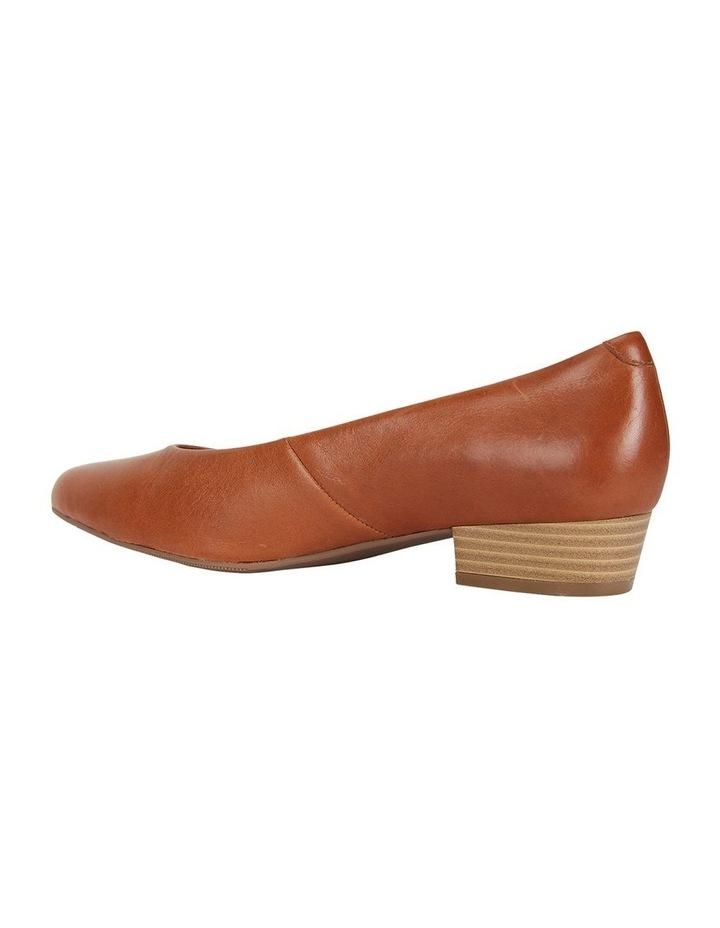 Emily Cognac Glove Heeled Shoes image 6