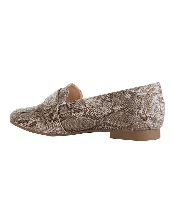Tyson Snake Print Flat Shoes image 4