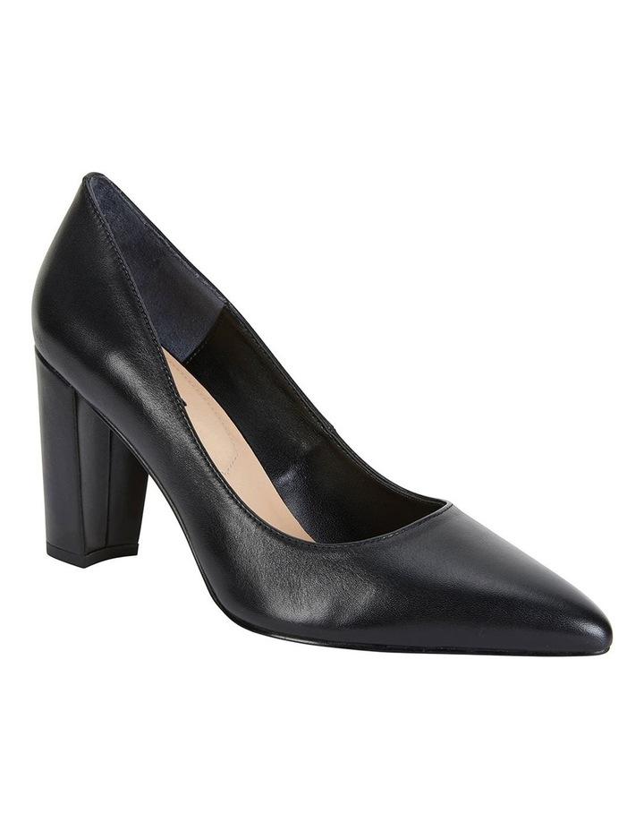 Lyric Black Glove Heeled Shoes image 1