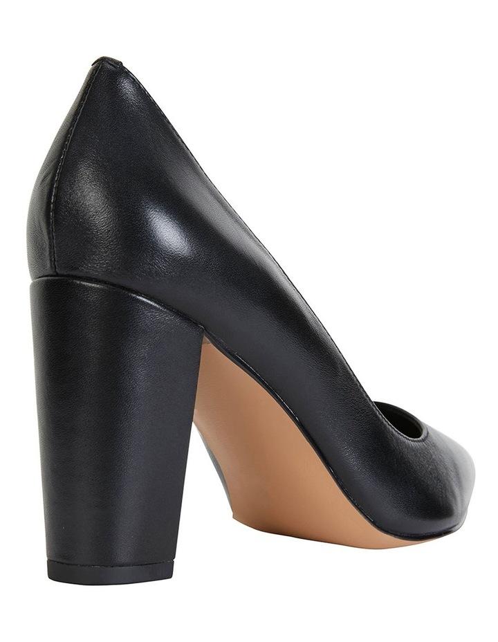 Lyric Black Glove Heeled Shoes image 3