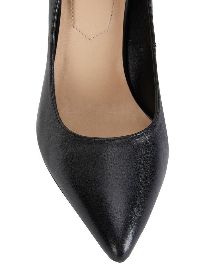 Lyric Black Glove Heeled Shoes image 4