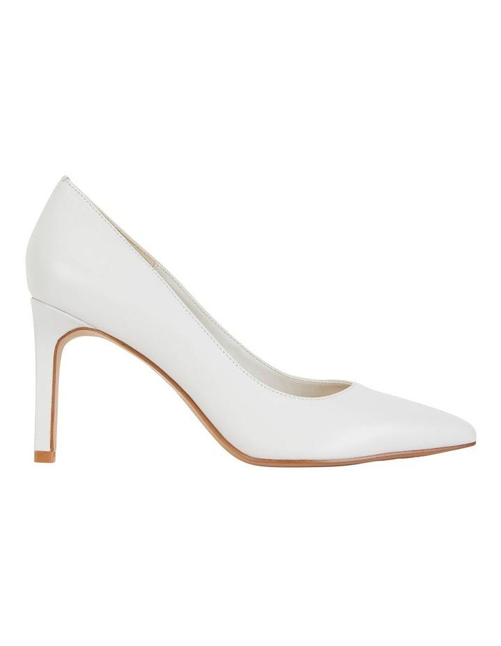 Octavia White Glove Heeled Shoes image 1
