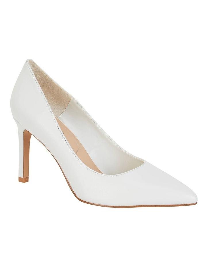Octavia White Glove Heeled Shoes image 2