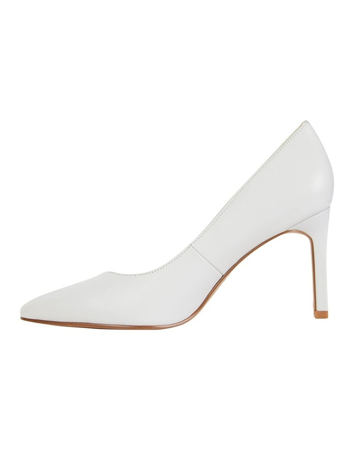 Octavia White Glove Heeled Shoes image 3