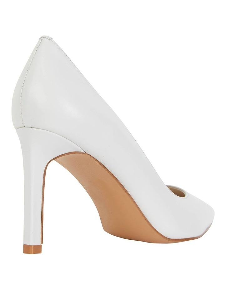 Octavia White Glove Heeled Shoes image 4