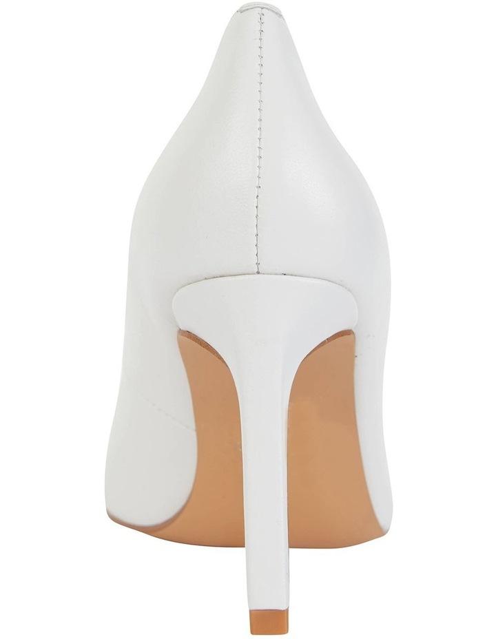 Octavia White Glove Heeled Shoes image 5