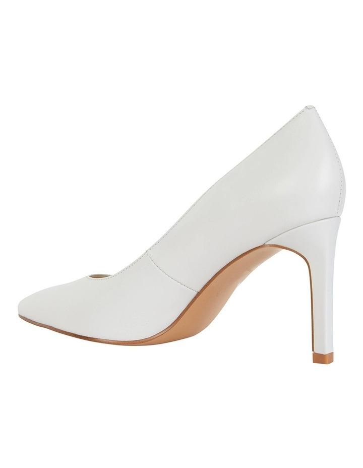 Octavia White Glove Heeled Shoes image 7