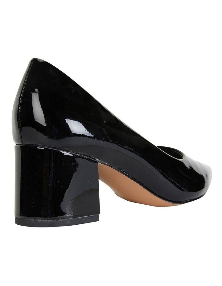 Idol Black Patent Heeled Shoes image 3