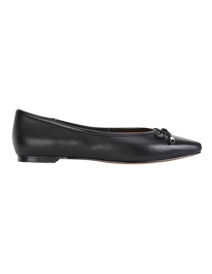 Kindle Black Glove Flat Shoes image 1