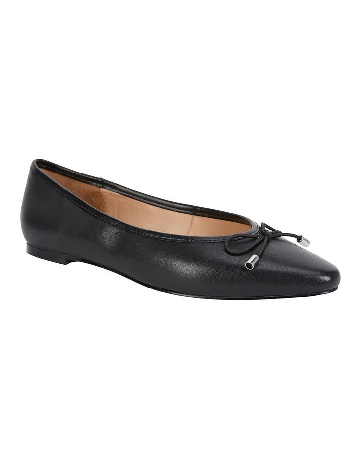 Kindle Black Glove Flat Shoes image 2