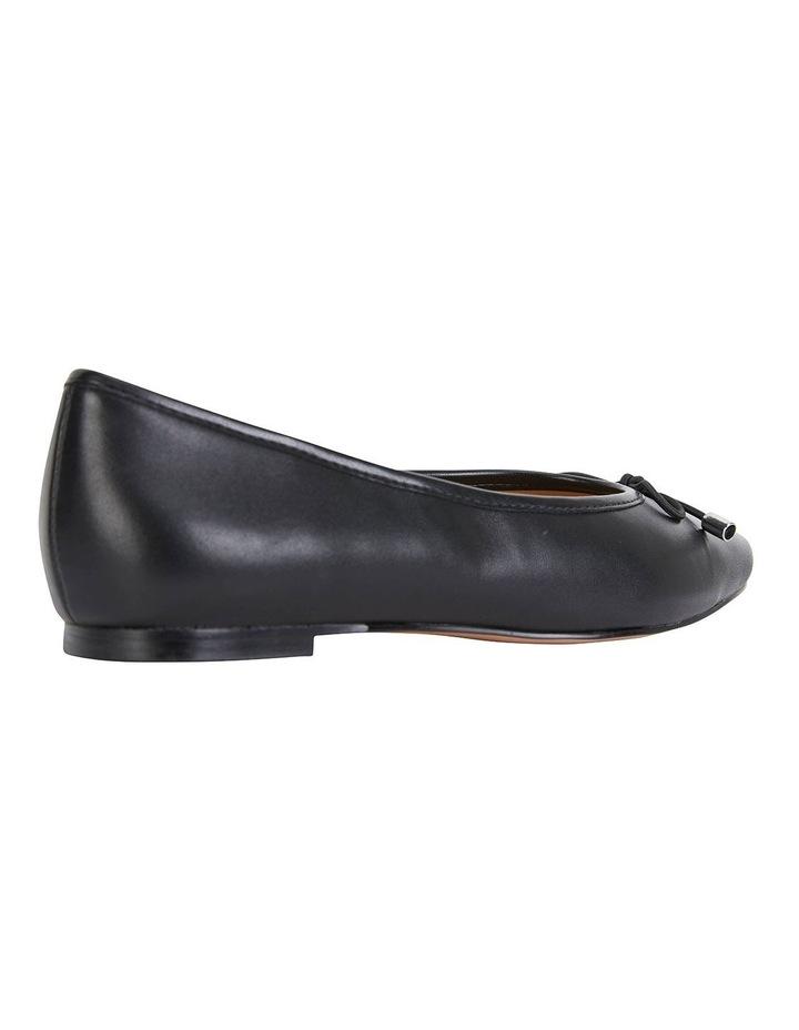 Kindle Black Glove Flat Shoes image 3