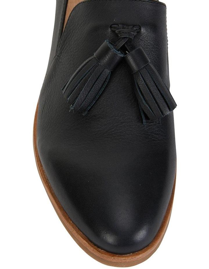 Salvador Black Glove Flat Shoes image 1
