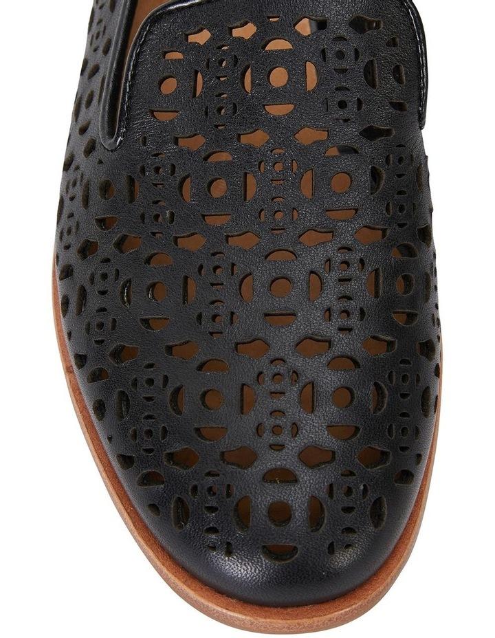Satchel Black Glove Flat Shoes image 4