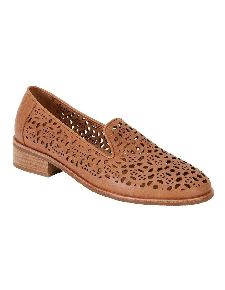 Satchel Tan Glove Flat Shoes image 1