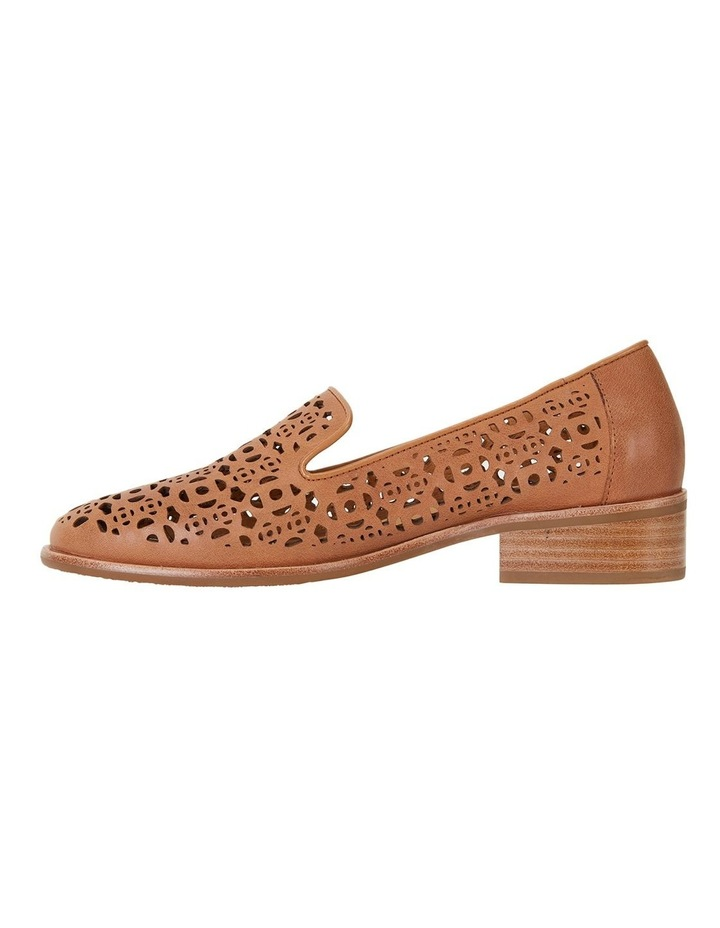 Satchel Tan Glove Flat Shoes image 2