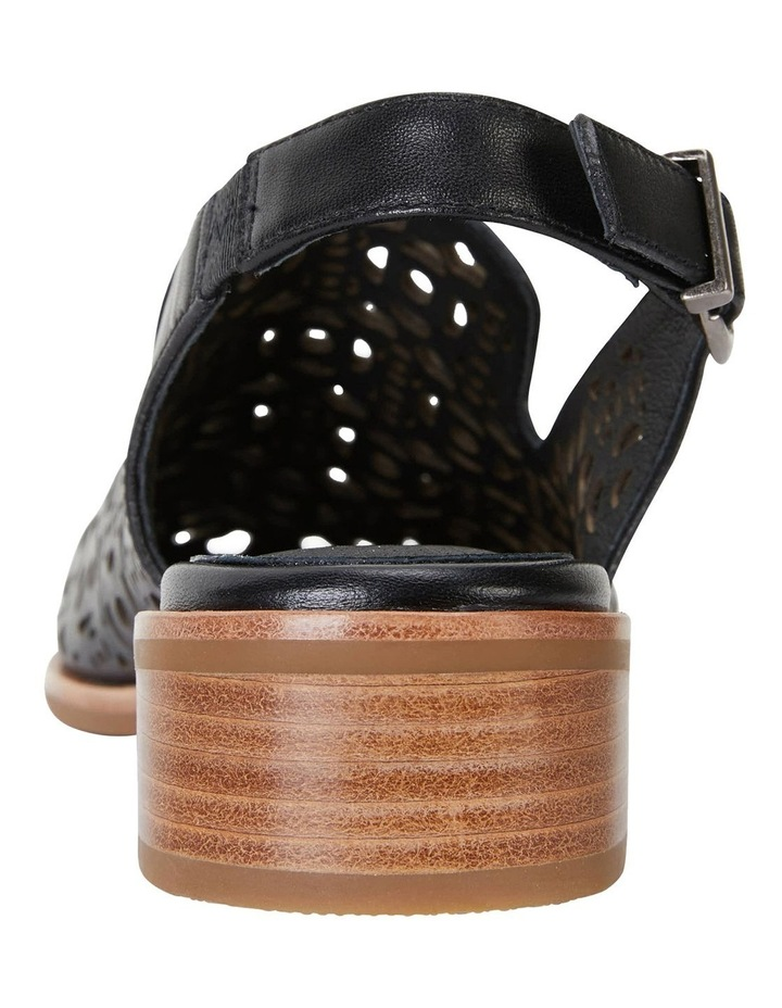 Scribe Black Glove Flat Shoes image 2