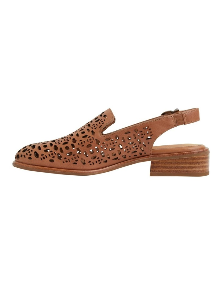 Scribe Tan Glove Flat Shoes image 1