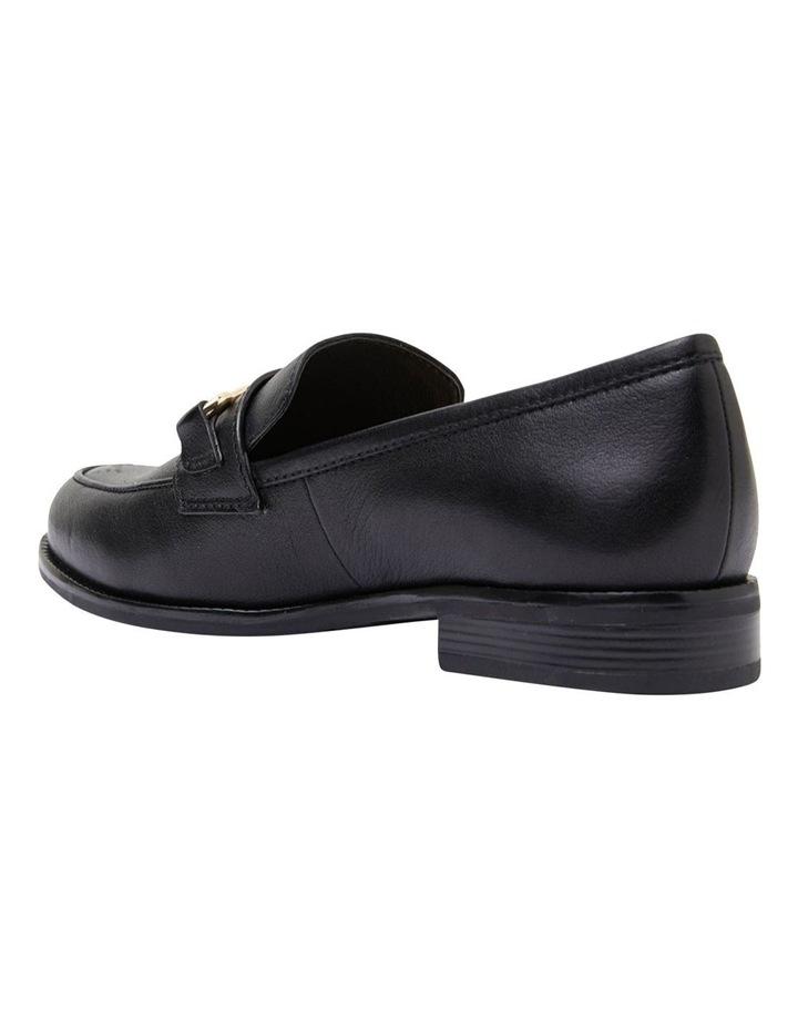 Paragon Black Glove Flat Shoes image 5