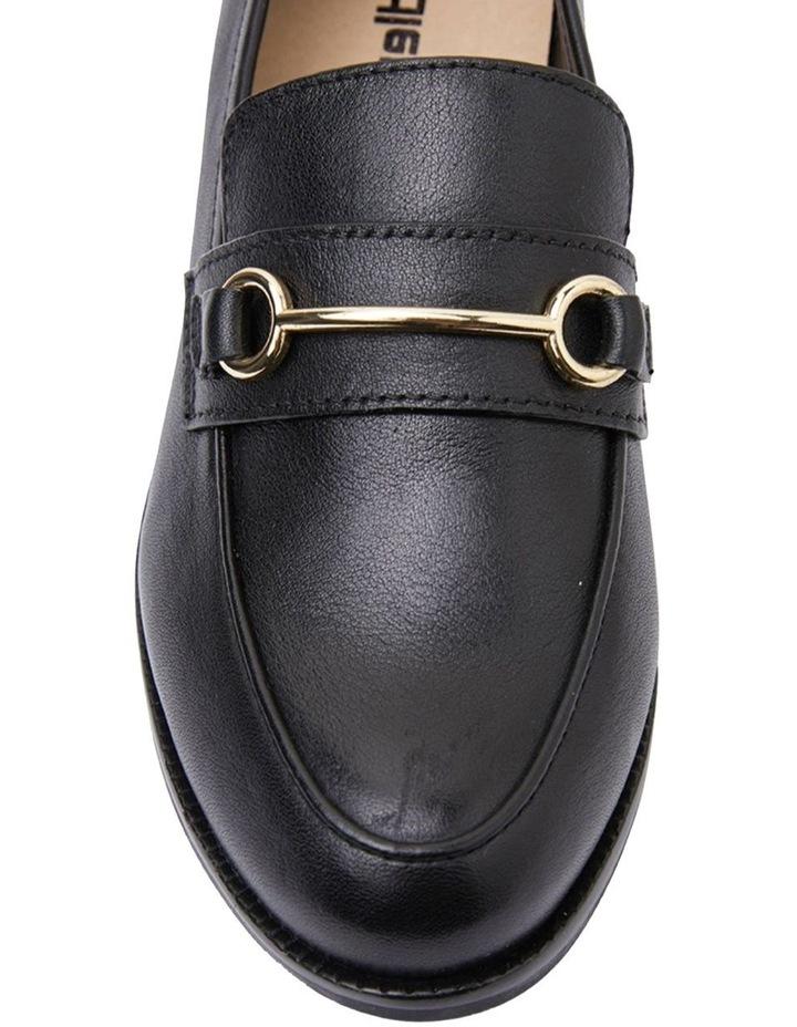 Paragon Black Glove Flat Shoes image 7