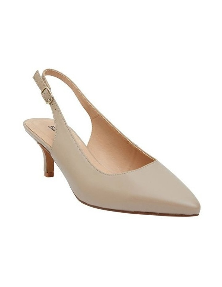 Nina Nude Glove Heeled Shoes image 2