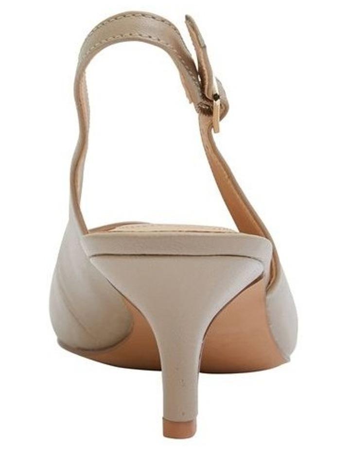 Nina Nude Glove Heeled Shoes image 4