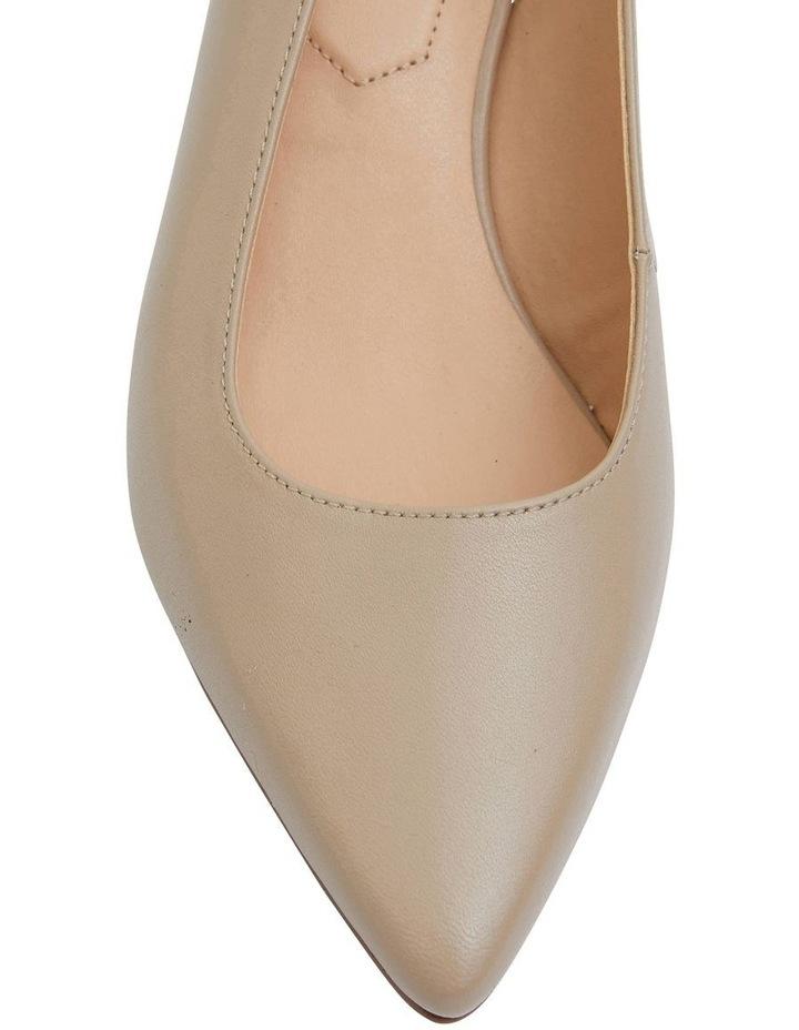 Nina Nude Glove Heeled Shoes image 5
