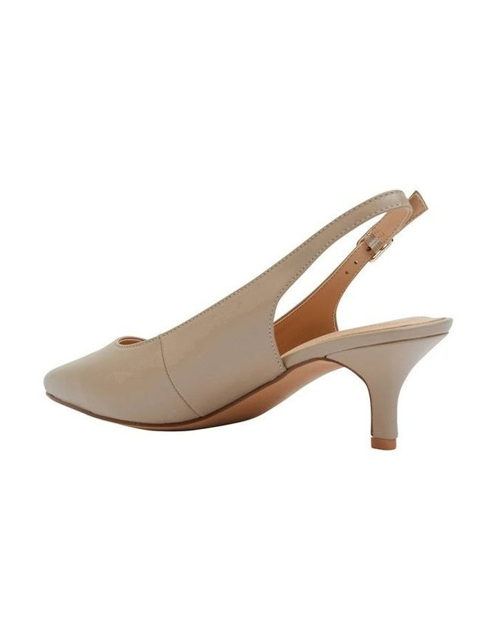 Nina Nude Glove Heeled Shoes image 6