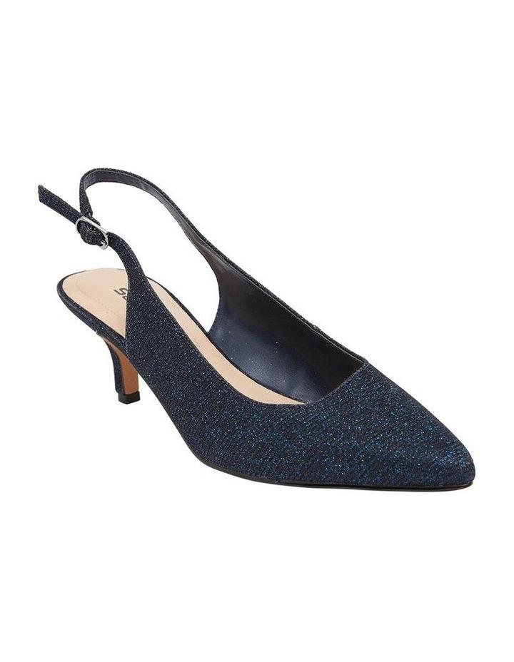 Nina Navy Sparkle Heeled Shoes image 1