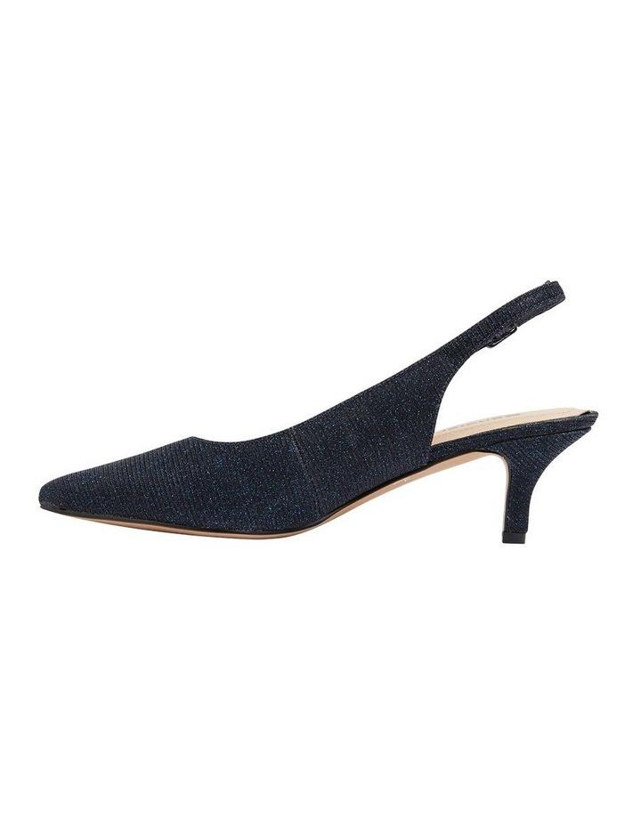 Nina Navy Sparkle Heeled Shoes image 2