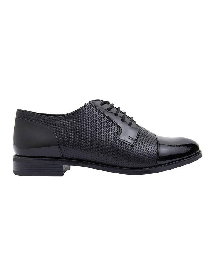 Panache Black Patent/Glove Flat Shoes image 1